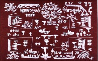 Indian folk arts forms of art15 the warlis are tribal cultivators in the thane district of north maharashtra whose traditional art forms were in the past restricted to images of the mother thecheapjerseys Gallery